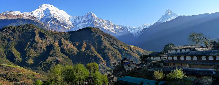 Tourist season in Nepal